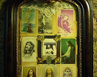 Reliquary of Funeral Cards