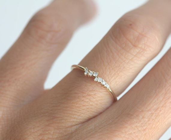 impossibly perfection delicate minimalist rings engagement that of are lovely utter wedding