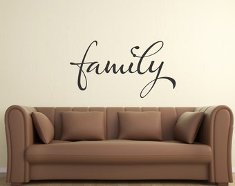 Family... Vinyl Wall Decal