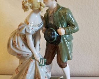 Rare vintage Royal Copenhagen figurine from 1953 the Princess and the Swineherd