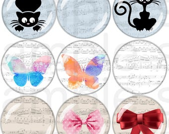 60 digital picture for cabochon 30mm/20mm/25mm
