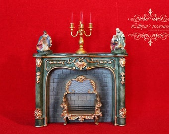 Dollhouse miniature Holy Family