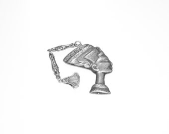 Silver Egyptian Styled Charm Pendant