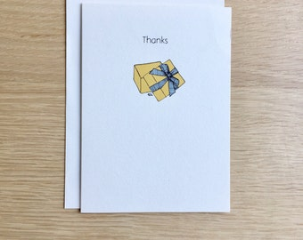 Funny Thank You Card - Regift