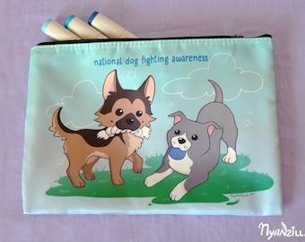 Accessory Bag: Dog Fighting Awareness