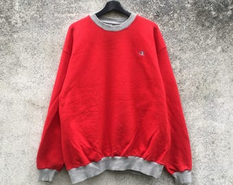 CHAMPION vintage 90s Champion Products red colour size XL