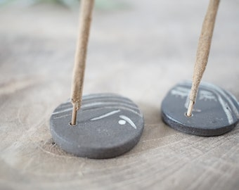 Little face incense holders