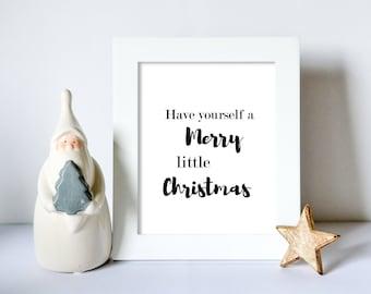 Printable art, Wall art, Printable quotes, Instant download, Christmas decor, Home decor, Word art, Digital Art, Prints, Typography