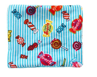 Washable wipes, cotton and sponge pattern candy, set of 10