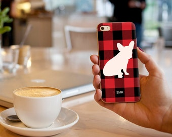 Custom Frenchie iPhone / Samsung Galaxy S6 Case
