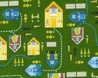 Patchwork collection STORYBOOK LANE ANDOVER fabric