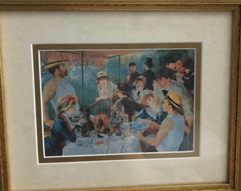 Renoir - Luncheon of the Boating Party - Framed Print
