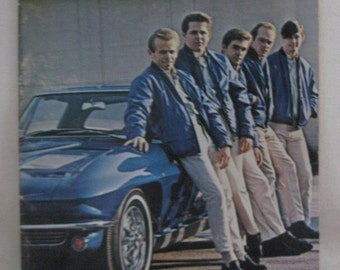Vintage 1964 The Beach Boys Vocal Album