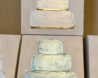 Birthday / Wedding Cake Painting