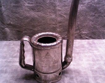 Chrome Plated 1 Quart Swingspout Oil Can
