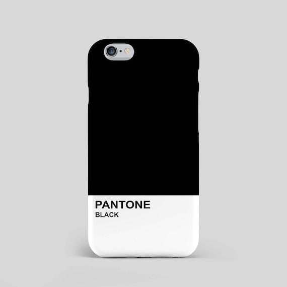 Pantone schwarz inoffizielle 3D Telefon-Fall modern