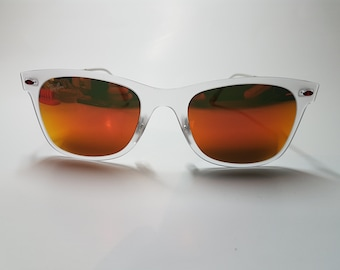 VTG Vintage Ray Bay Wayfarer Light Ray Orange Lens