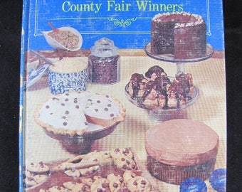 Blue Ribbon Recipes: Country Fair Winners // 1968 hardback // Cookbook Collector Library // Sought after Recipes