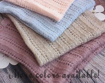 20%OFF* Newborn Blanket, Baby Blanket, Newborn Wool Blanket, Baby Wool Blanket, Newborn Photo Prop, Baby Photo Prop, Basket Stuffer