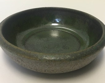Blue & Green Speckled Jewelry Bowl