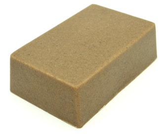 Moroccan Rhassoul clay soap bar. All Natural SLS Free.