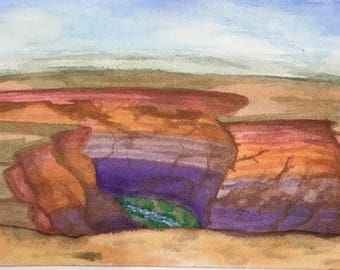 The Painted Desert Canyon
