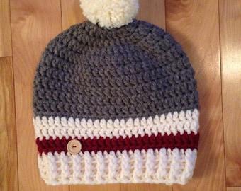 Hat slouchy lumberjack for men or women