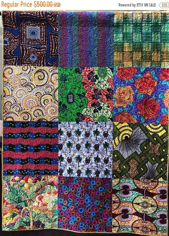 Hot Summer Sale Bazaarly Big and Beautiful #5 50x66 inch lap quilt