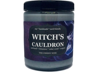 Patchouli Candle, Witch Candle, Witches Cauldron, Halloween Candle, Witch Brew, Fall Candle, Scented Candle, Soy Candle, Witches Candle, Soy
