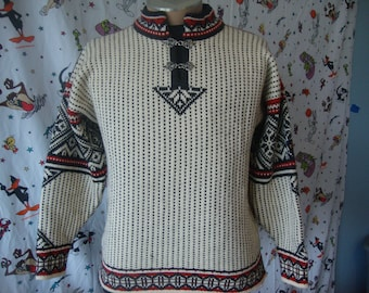 Vintage Dale Of Norway Sport Wool Pullover Wool Sweater Size S
