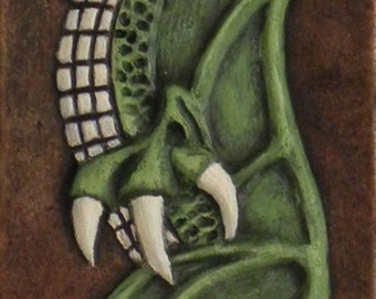 Claw -  Cast Paper - Fantasy art - Spirit of Tooth and Claw - Dragon -  Drake - Draco