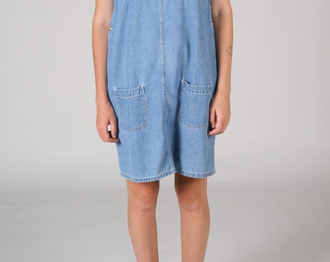 Blue Denim Pinny