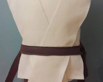 Star Wars Jedi Rey Costume Tunic (Rey Costume / Star Wars Costume / Jedi Costume / Luke Costume) - Baby / Toddler / Kids / Teen / Adult Size