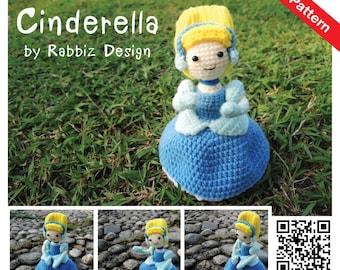 PDF Pattern - Amigurumi Princess Cinderella Pattern