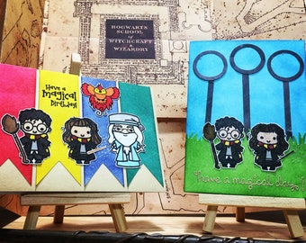 Harry Potter greeting cards - birthday, Valentine, Christmas, holiday
