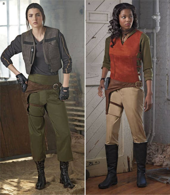 Cosplay in the style of Star Wars Rogue One Alliance Costumes, Jyn ...
