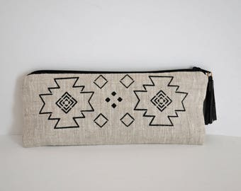 Clutch with tassel Navajo