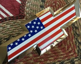 PRECUT (No Trimming!) Chevy bowtie emblem overlay (flat vinyl- no gel coat) - Silverado ,Colorado