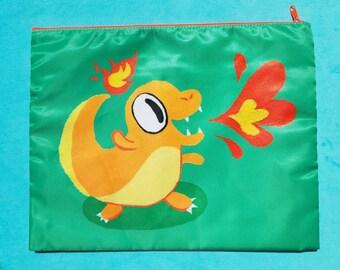 Cute Charmander Pokemon Zipper Bag
