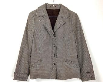 60s Houndstooth Jacket