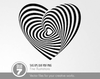Optical illusion #2 svg dxf eps pdf png
