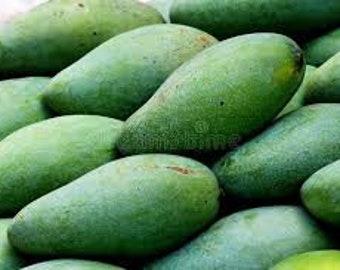 Thai Sweet Green Mangoes - 3 lbs.
