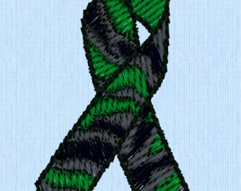 Army Ribbon Embroidery Design