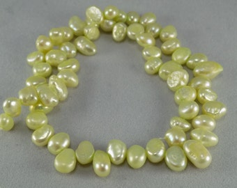 Soft Yellow Freshwater Pearls - Sold per strand - #1B434