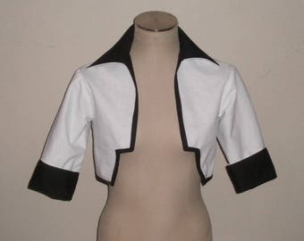 Grimmjow Jaegerjaquez from Bleach - Grimmjow Cosplay Jacket - Black and White Grimmjow Jacket for Men or Woman - Custom Made in Any Size