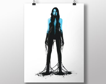 Tainted Spectrum 1-3  Print (297 x 420mm   11.7 x 16.5 inches)