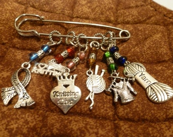 Knitting Diva Stitch Markers for Knitting