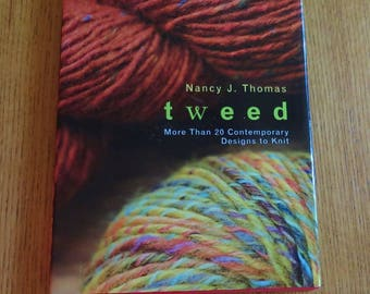 Book - tweed - More Than 20 Contemporary Designs to Knit