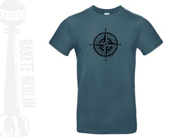 T-Shirt 'Wind rose - drawing'