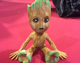 Guardians - Baby Groot (handpainted)